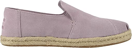 Burnished Lilac Suede