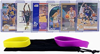 John Stockton & Karl Malone Basketball Cards Assorted (6) Bundle. 3 each - Utah Jazz Trading Card Gift Pack