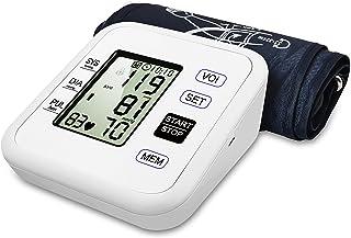 WEILIGU Upper Arm Blood Pressure Monitor, WEILIGU Digital Voice Smart BP Meter with Large Display