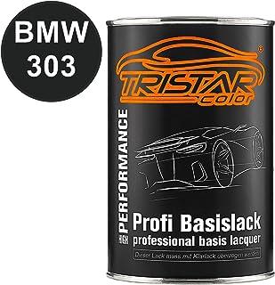 Tristarcolor Autolack Dose Spritzfertig Für Bmw 303 Cosmosschwarz Metallic Basislack 1 0 Liter 1000ml Auto
