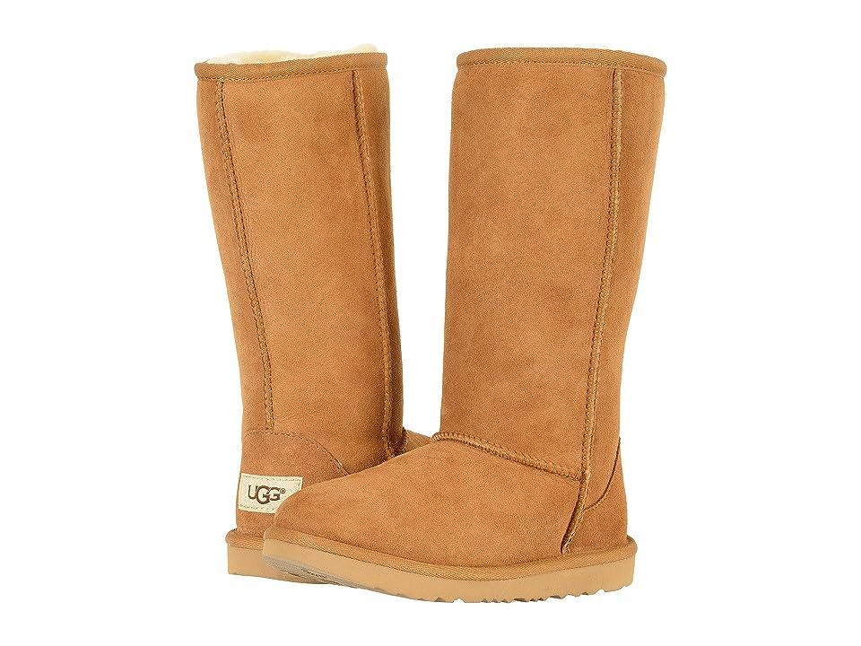 UGG Kids Classic Tall II (Little Kid/Big Kid) (Chestnut) Girls Shoes