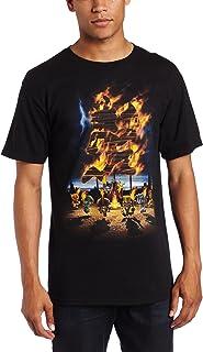 FEA Merchandising Men's Insane Clown Posse Burning T-Shirt