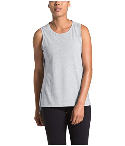 The North Face Workout Muscle Tank Top (TNF Light Grey Heather) Women