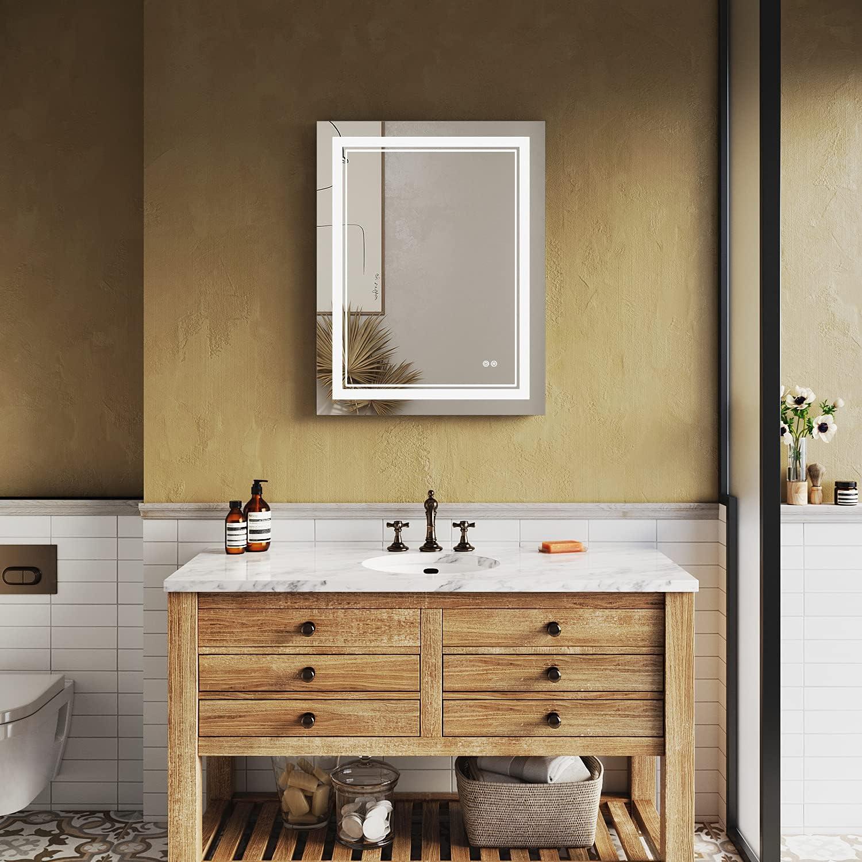 SUNNY SHOWER LED Bathroom Lighted Vanity Mirror x 36 shipfree Bargain sale 28 inc inch