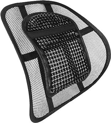 AMOS Sit Tight Sistema de Apoyo Lumbar de Malla Soporte de Espalda Respaldo Espina Alivio del