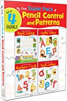 My First Super Boxset of Pencil Control and Patterns : Pack of 4 interactive activity books to practice Patterns,...