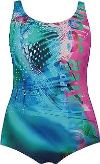ULLA POPKEN, Damen, Große Größen, Badeanzug Wassersport RT Costume Intero Donna