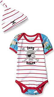 Little Blue House by Hatley Baby Boys' Bodysuit & Cap