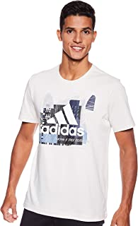 Adidas Men's Must Haves Badge of Sport Foil Graphic Short Sleeve T-Shirt