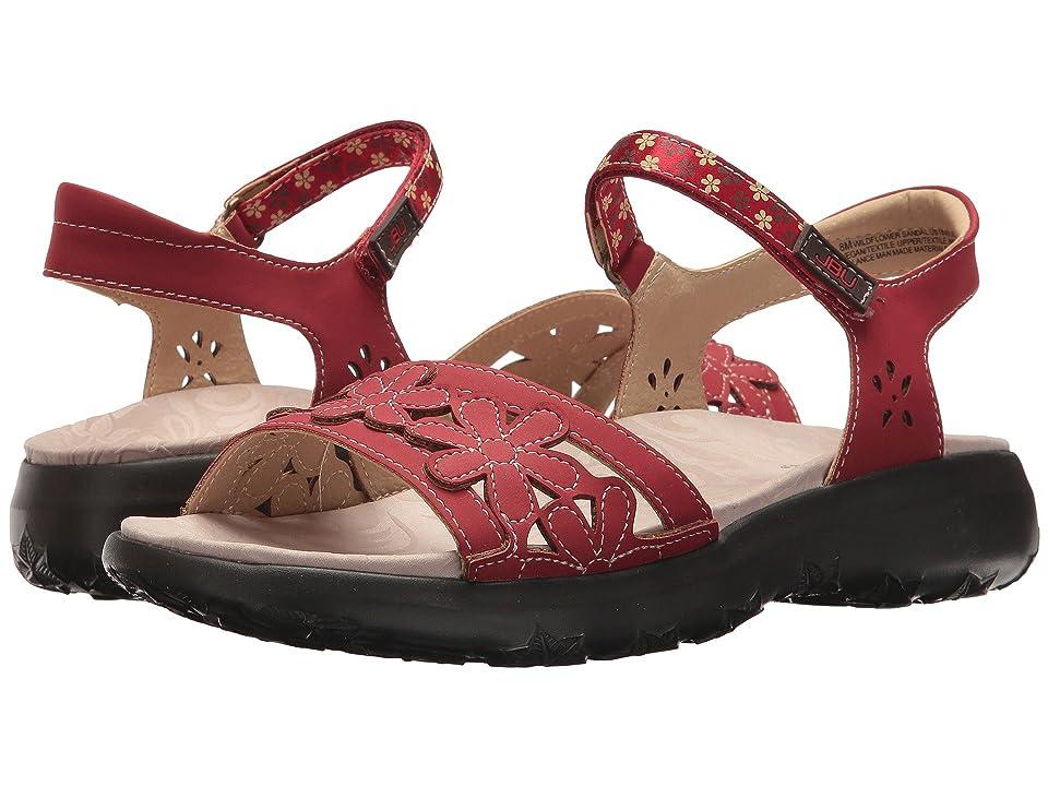 JBU Wildflower Sandal (Red) Women