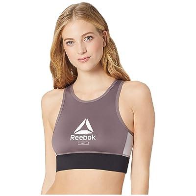 Reebok Workout Ready Lths Bralette (Almost Grey) Women