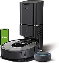 iRobot Roomba i7+ (i7556) - Robot Aspirador con Vaciado automático, aspiración de Alta Potencia y 2 cepillos + Echo Dot (...