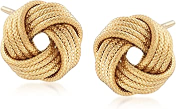 knot earring studs