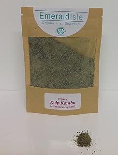 Kombu, reemplazo de sal, potenciador de sabor Kelp Kombu polvo de algas de Isla Esmeralda