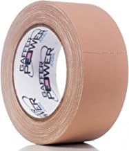Real Professional Grade Gaffer Tape by Gaffer Power, Made in The USA, Heavy Duty Gaffers Tape, Non-Reflective, Multipurpose. (2 Inches x 30 Yards, Tan)