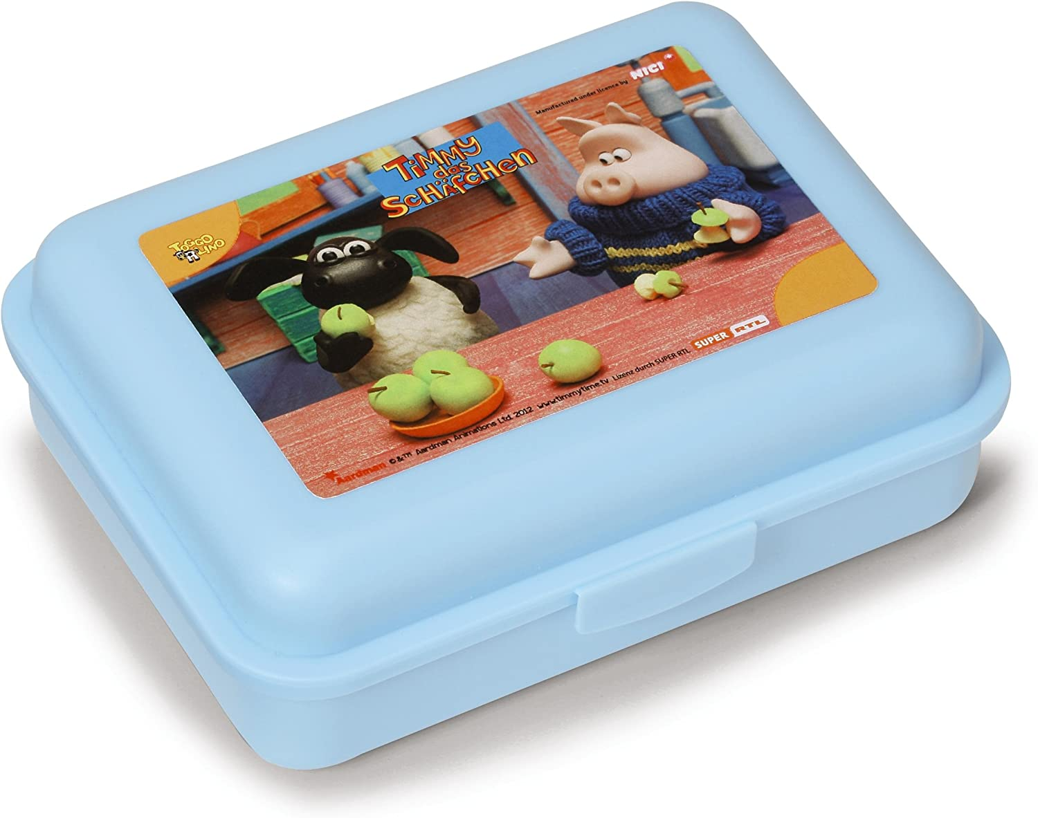 Shaun the sheep  lunchbox Timmy  17,6 x 13 x 6 cm By Nici
