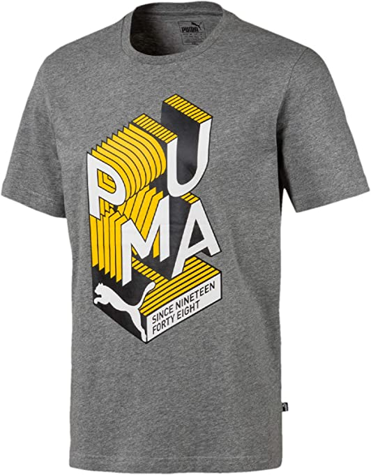 PUMA Men's Graphic Effect Interest Tee