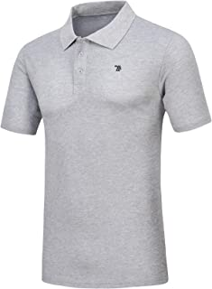 Mens Athletic Fit Causal Classic Golf Summer Polo Shirt