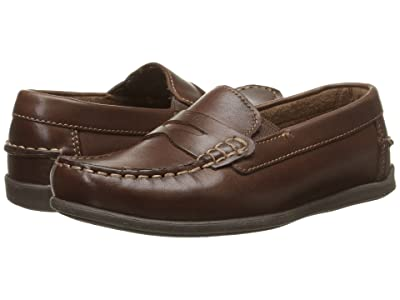 Florsheim Kids Jasper Driver Jr. (Toddler/Little Kid/Big Kid) (Brown) Boys Shoes