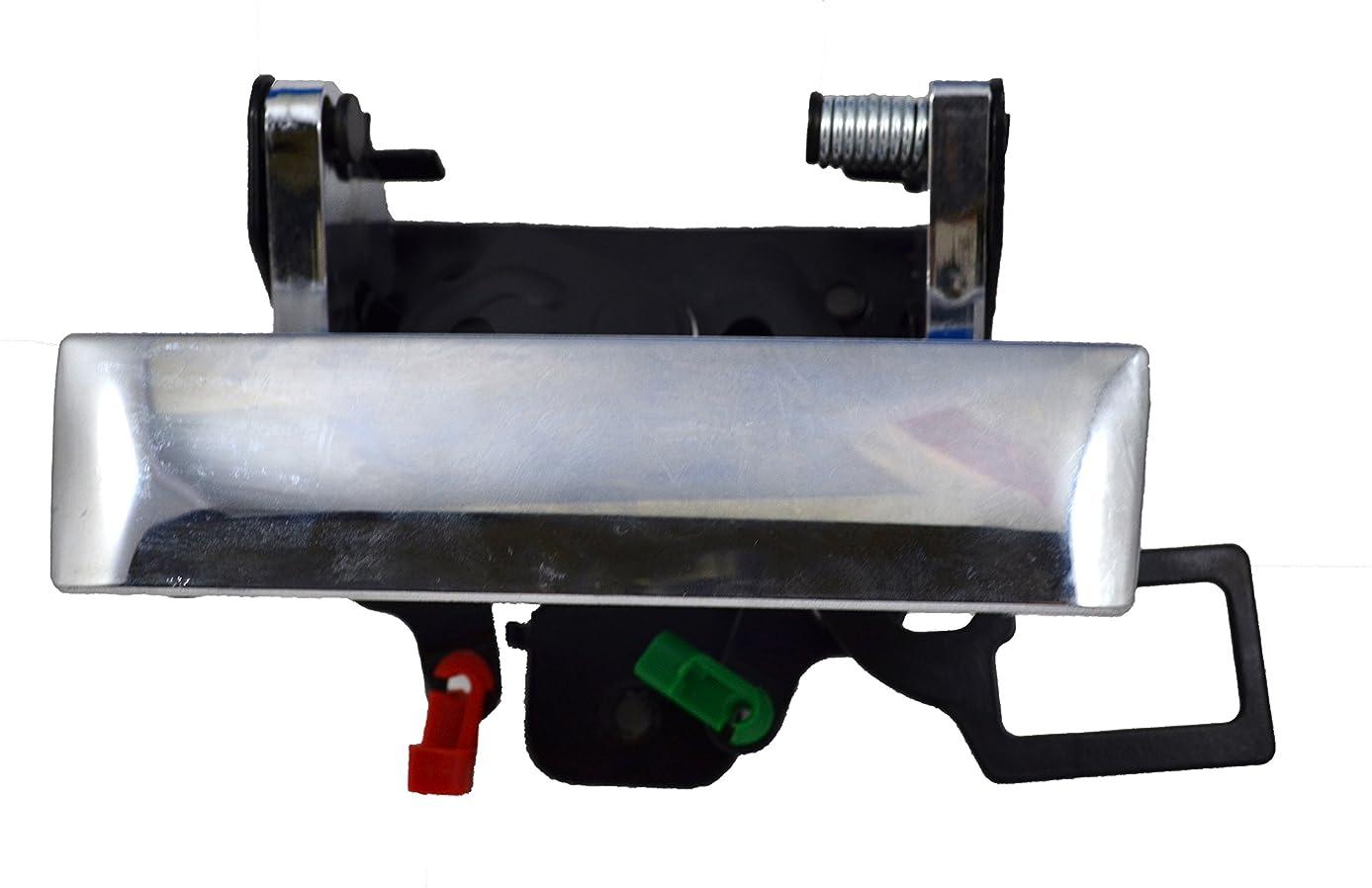 PT Auto Warehouse GM-3547M-TG - Tailgate Handle, Chrome - with Keyhole