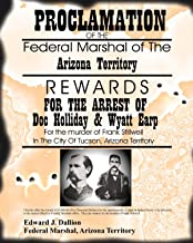 Old Tin Sign Doc Holliday And Wyatt Earp Wanted Poster Old West