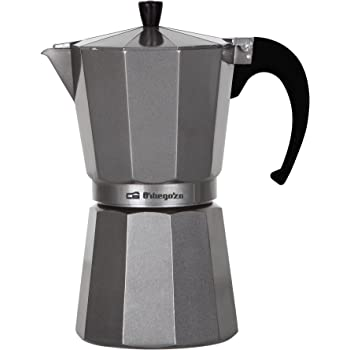 Orbegozo KFS1220 KFS 1220-Cafetera, 12 Tazas, Color, Aluminio, Plata: Amazon.es: Hogar