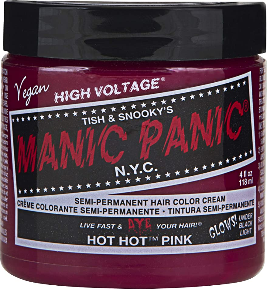 Manic Panic Hot Hot Pink Hair Dye #13 4 fl. oz