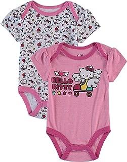 Infant Girls 2 Pack Bodysuit Pink 6-9 Months