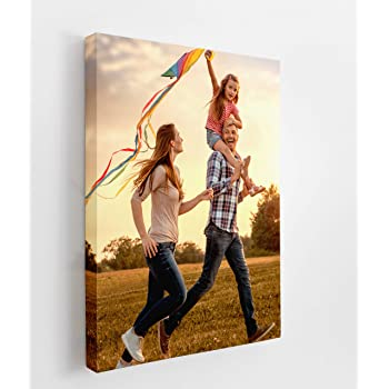 """Renditions Gallery Digitally Printed Your Delighted Memorable Moments Picture to Custom Personalized Giclee Canvas Prints Wall Art 12""""X18"""""""