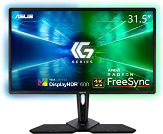 ASUS CG32UQ 32 inch 4K (3840x2160) HDR Console Gaming Monitor, Halo Sync, FreeSync, DisplayHDR 600, DCI-P3 95%, GameFast, ...