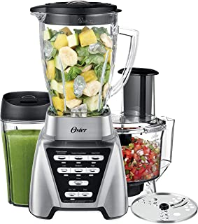 Oster Blender | Pro 1200 with Glass Jar, 24-Ounce Smoothie Cup and Food Processor..