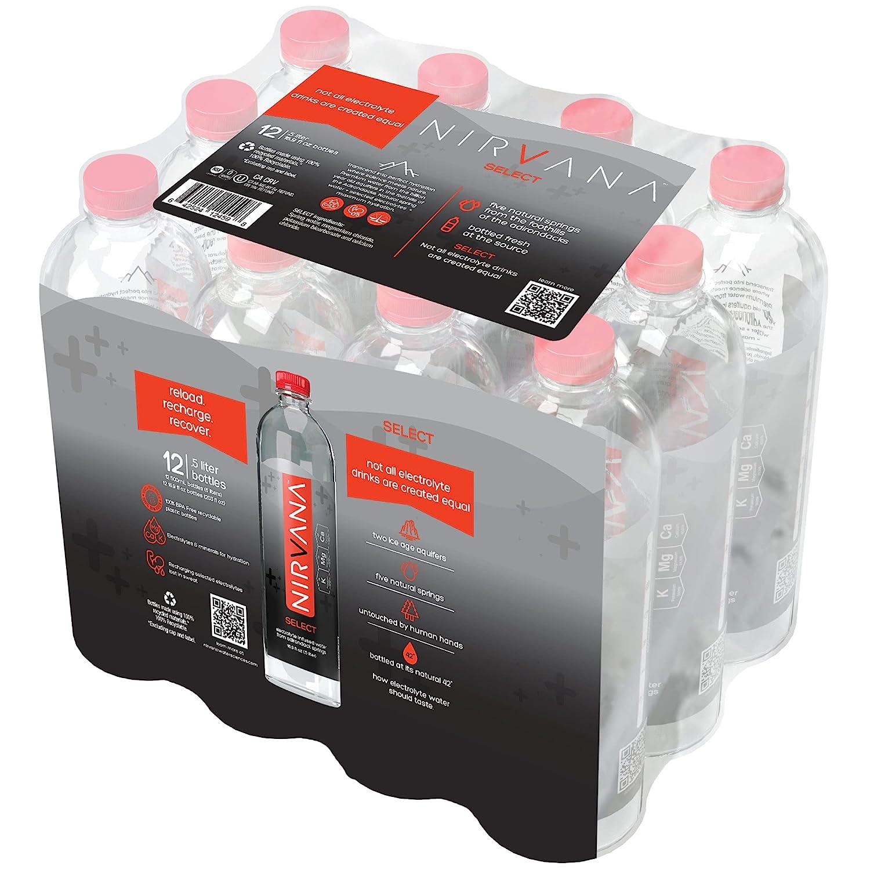Ranking TOP19 Nirvana Super sale Select Premium Water Infused Electrolytes With El –