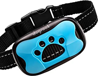 Best DogRook Rechargeable Dog Bark Collar - Humane, No Shock Barking Collar - w/2 Vibration & Beep Modes - Small, Medium, Large Dogs Breeds - No Harm Training - Automatic Action Without Remote -Adjustable Review