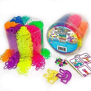Rainbow Loom Neon Jumbo Bucket with 2X Happy Loom