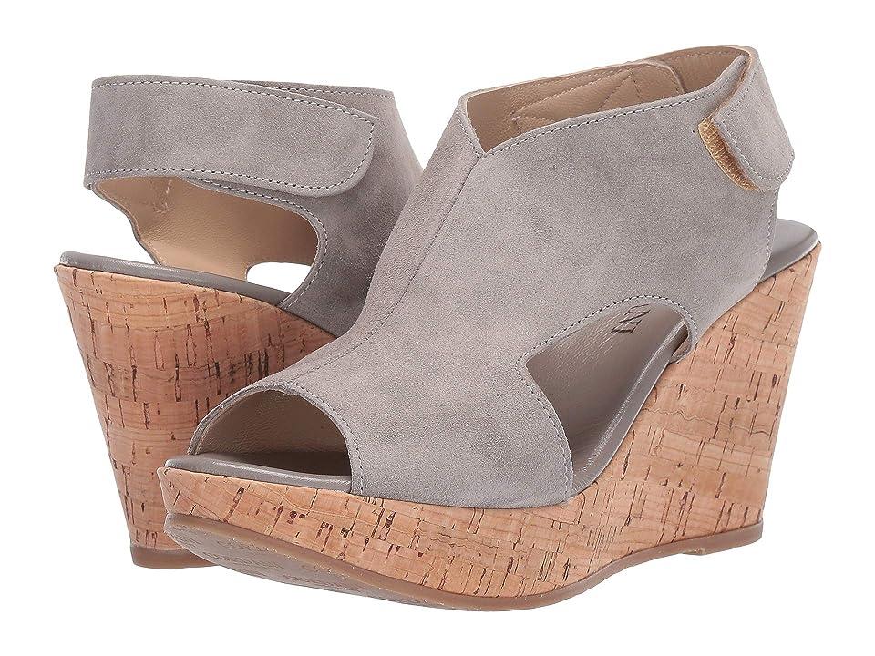 Cordani Reed (Road Suede/Cork) Women's Wedge Shoes, Gray