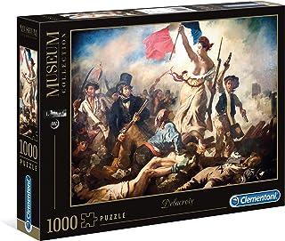 Clementoni 39549 Louvre 1000pc Puzzle-Delacroix-Liberty Leading The People