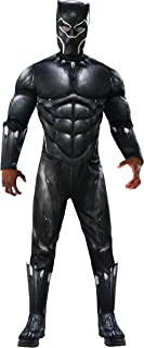 Rubie's Men's Marvel Black Panther Deluxe Costume, Standard