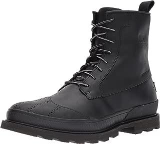 sorel madson wingtip waterproof boot men's