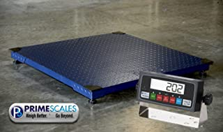 "Heavy Duty 6000lbx0.5lb 40""x40"" Floor Scale/Pallet Scale/Shipping Scale with Indicator"