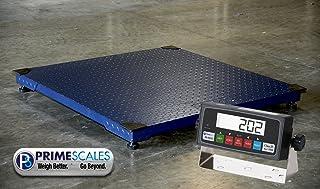 10000lbs Capacity, Durable Floor Pallet Scale, 5`x5` Base