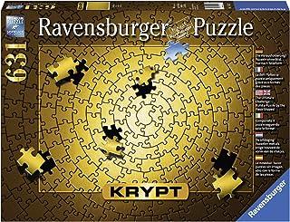 Ravensburger RB15152-3 Rburg - Krypt Gold Spiral Puz 631pc