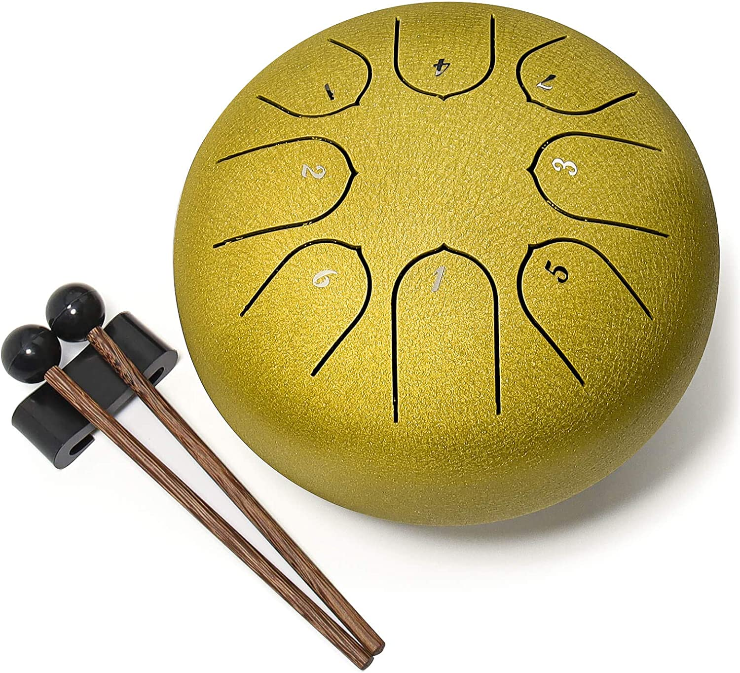 Steel Tongue Drum Ironkoi OFFicial Spasm price mail order 8 Notes 6 Tank inch Percuss Key C