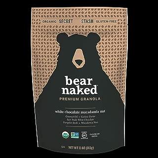 Bear Naked Premium White Chocolate Macadamia Nut Granola, Certified Organic, 6 Count