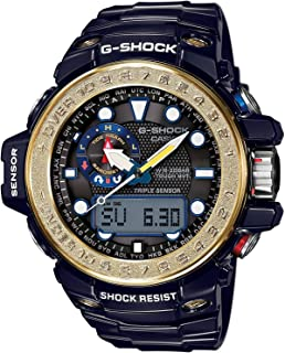 [カシオ]CASIO 腕時計 G-SHOCK GULFMASTER トリプルセンサーVer.3+スマートアクセス+タフムーブメント搭載 世界6局電波対応ソーラーウオッチ GWN-1000F-2A メンズ [並行輸入品]