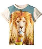Rock Your Baby - Summertime Lion Short Sleeve Tee (Toddler/Little Kids/Big Kids)