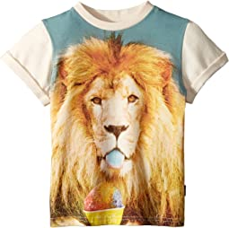 Summertime Lion Short Sleeve Tee (Toddler/Little Kids/Big Kids)