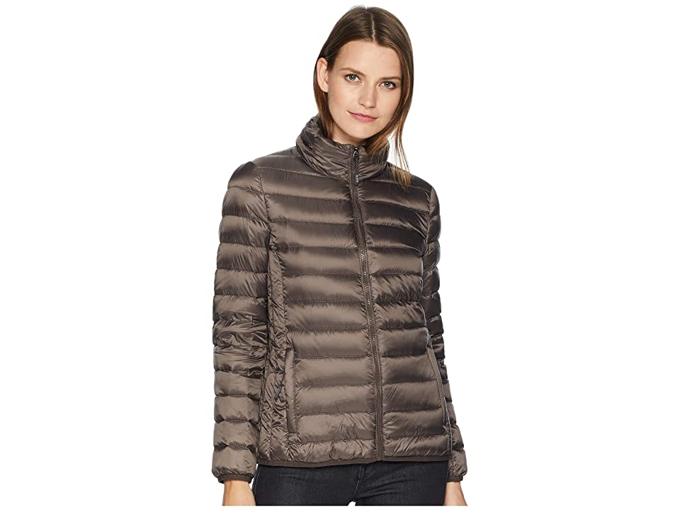 Tumi Clairmont Packable Travel Puffer Jacket (Mink) Women