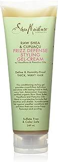 Shea Moisture raw shea and cupuacu frizz defense gel cream, 236 ml