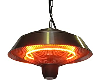 Ener-G+ HEA-21523 Outdoor/Indoor Infrared Hanging Heater Water and Dust Resistant, Safe for Kids and Pets