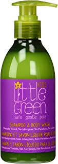 Little Green Shampoo & Body Wash for children. Tear Free, Sulfate Free, Paraben Free, Gluten Free. Not Tested on Animals, ...